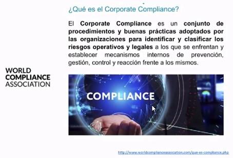 Cumplimiento corporativo - Compliance.