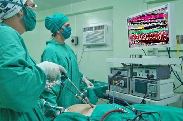 Ataque de Ransomware en centro quirurgico