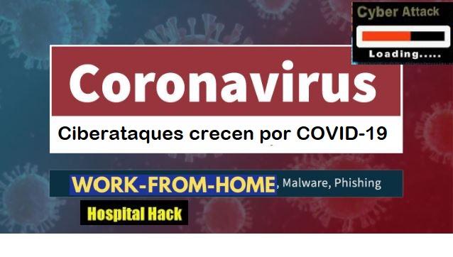 Ciberdelincuentes se aprovechan del COVID-19
