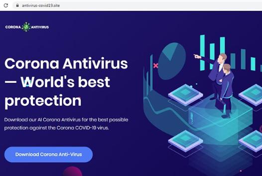 Software malicioso 'Corona Anti-Virus'