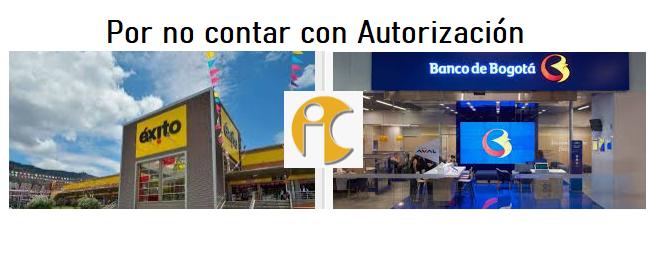 Sancionan al Éxito y Banco de Bogotá por incumplir Ley de datos personales