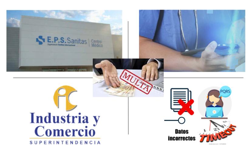 SIC ratifica sanción a EPS Sanitas por $894 millones