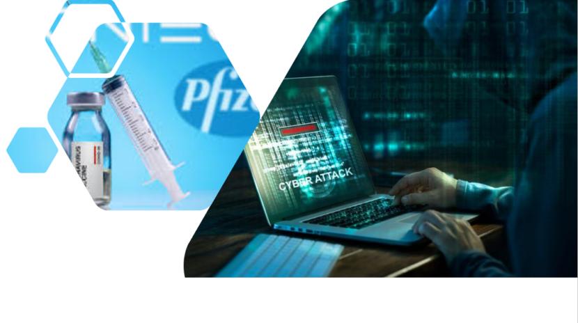 Ciberdelincuentes filtran datos de la vacuna Pfizer y BioNTech COVID-19