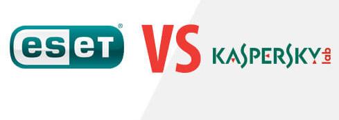 Comparativa ESET vs KASPERSKY