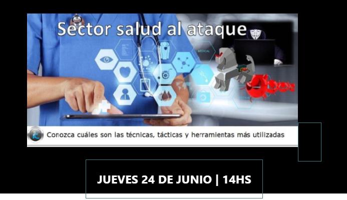 Webinar Hoy – Ciberamenazas actuales que afectan al sector salud