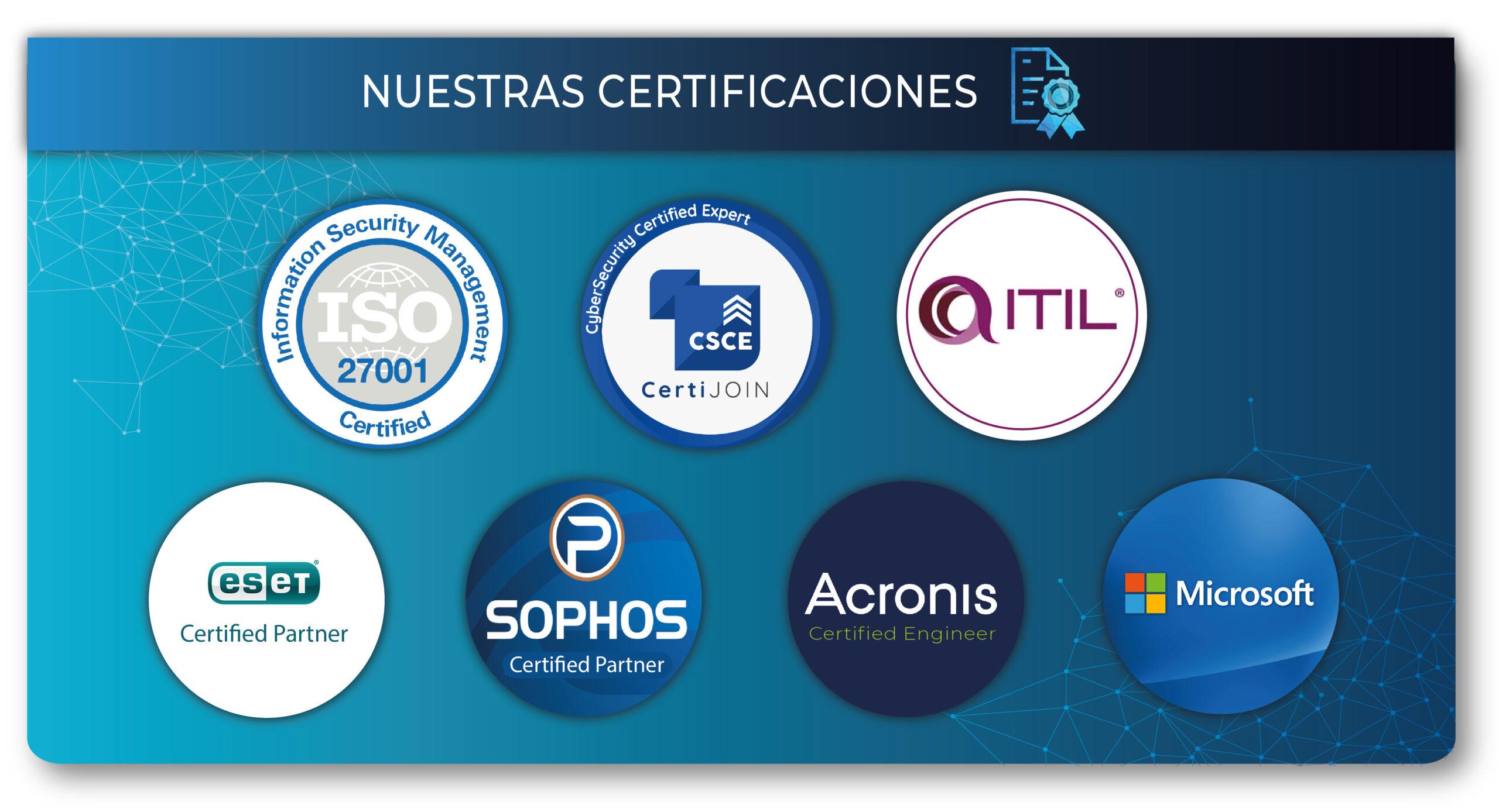 Certificaciones ITECH S.A.S